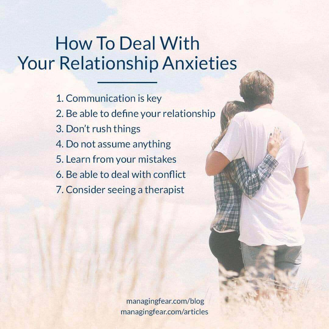 How To Deal With Your Relationship Anxieties