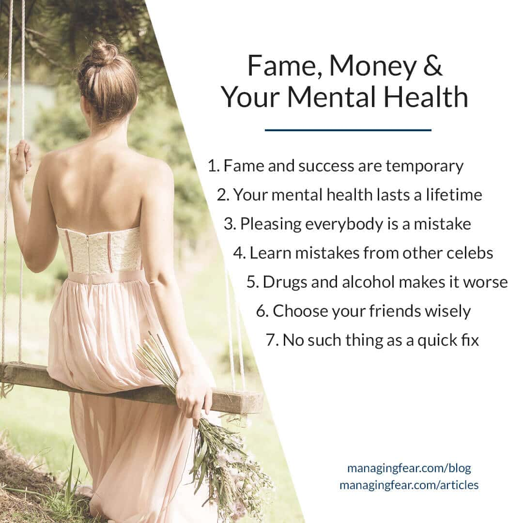 Fame, Money & Your Mental Health