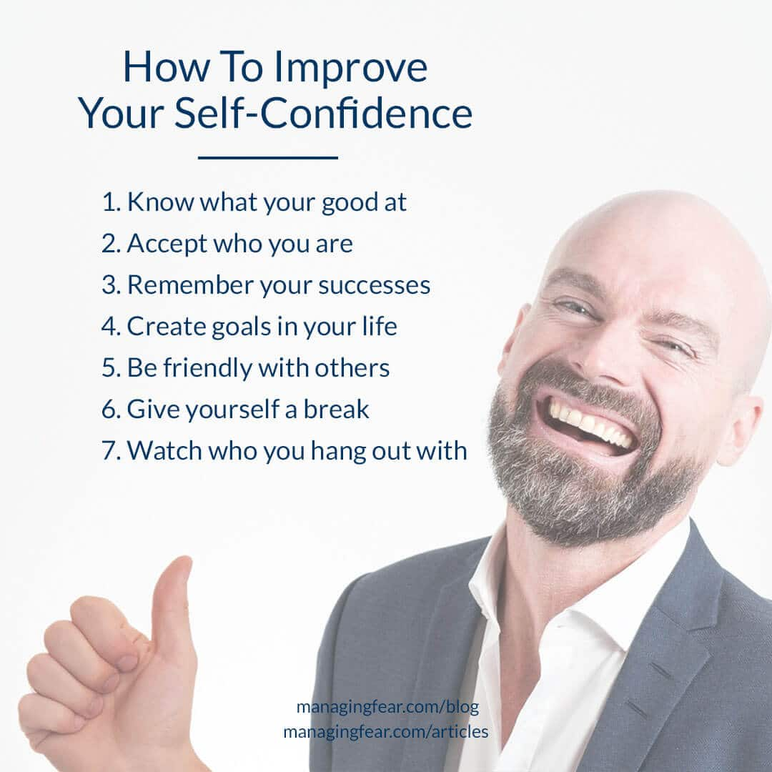 How To Improve Your Self Confidence