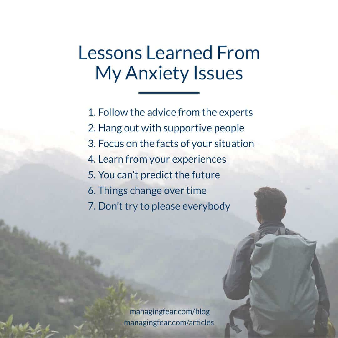 Lessons Learned From My Anxiety Issues