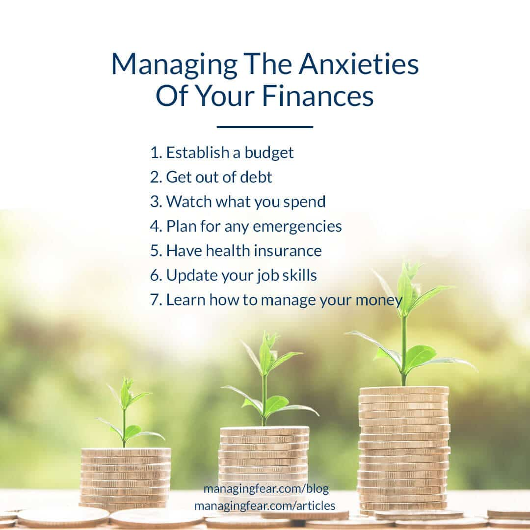 Managing The Anxieties Of Your Finances