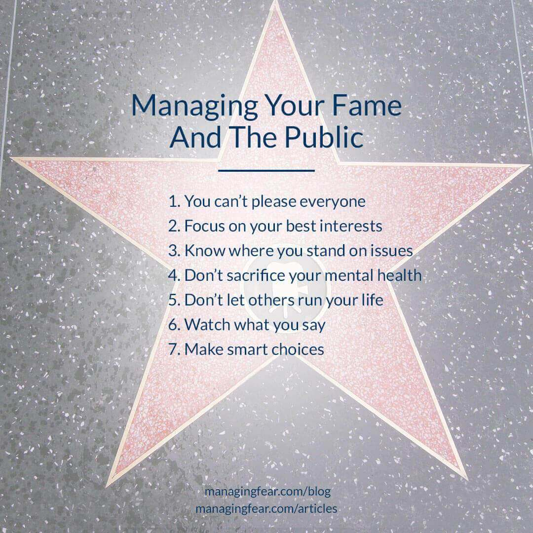 Managing Your Fame And The Public