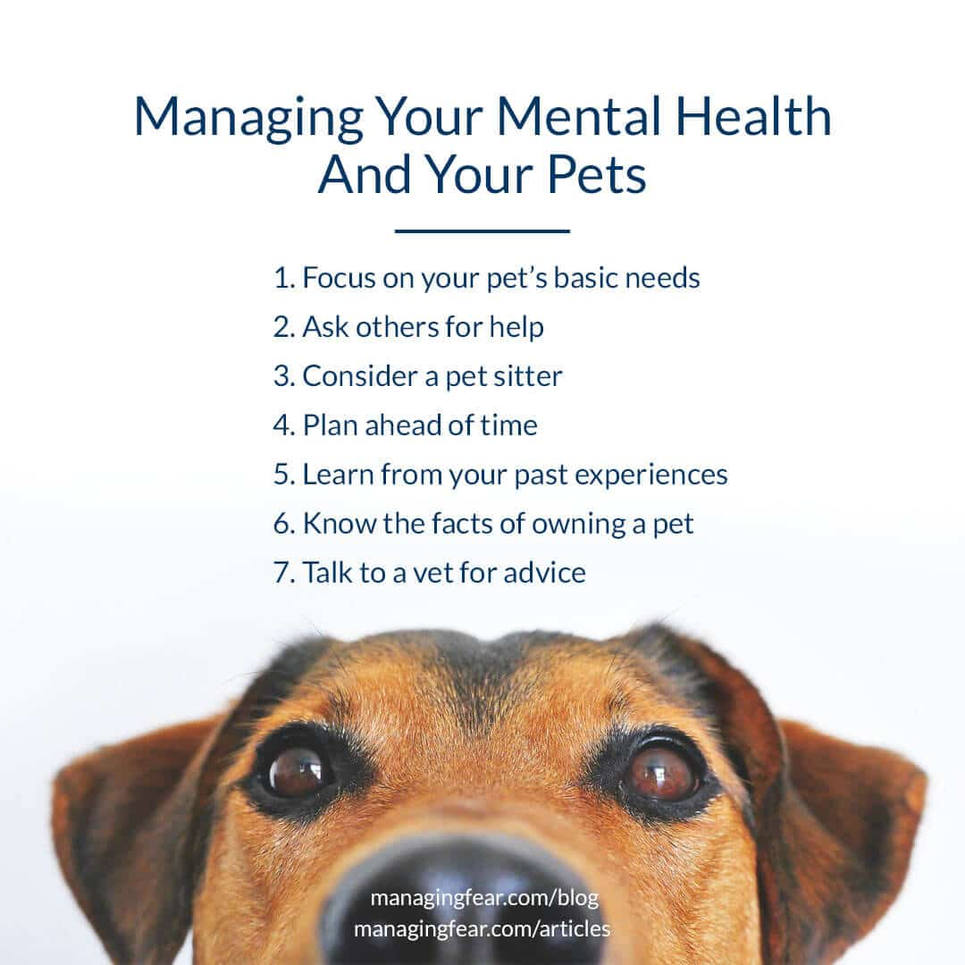 Managing Your Mental Health and Your Pets