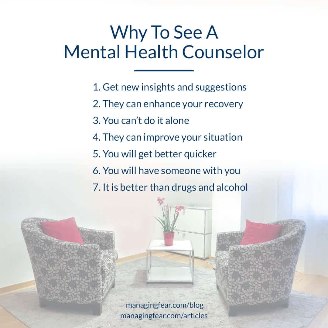 Why See A Mental Health Counselor
